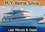 reina silvia galapagos yacht last minute cruises deals